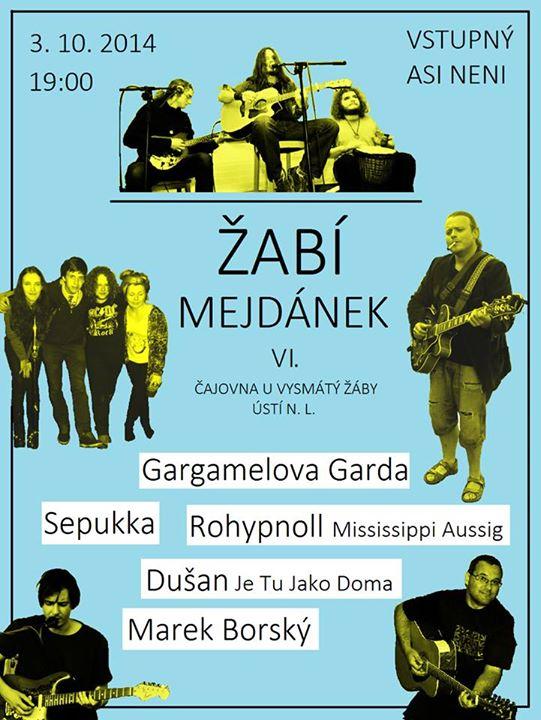 Žabí mejdánek 6. plakát